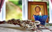 Об освящении верб в домашних условиях