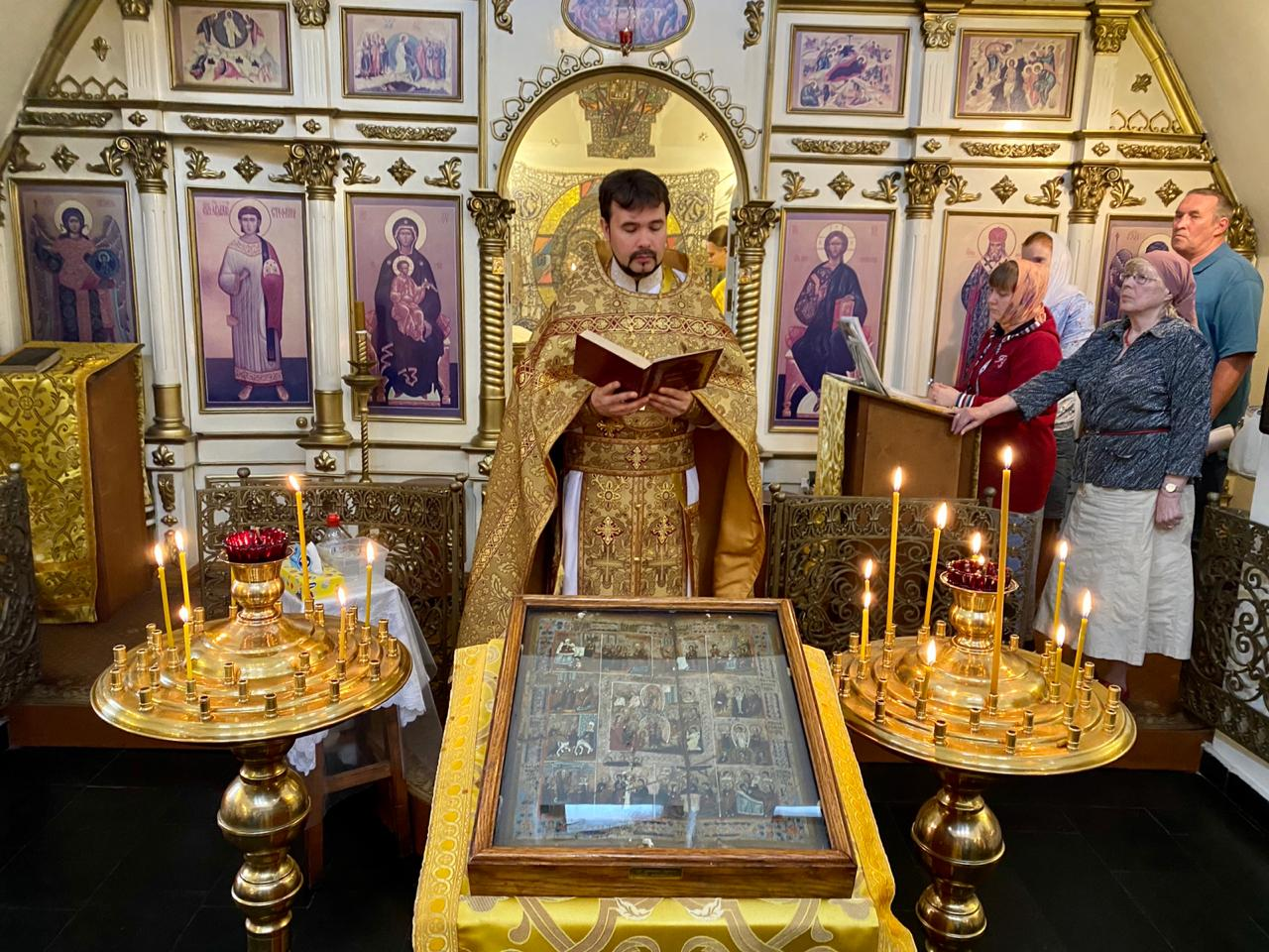 Память прп. Анто́ния Римлянина, Новгородского чудотворца